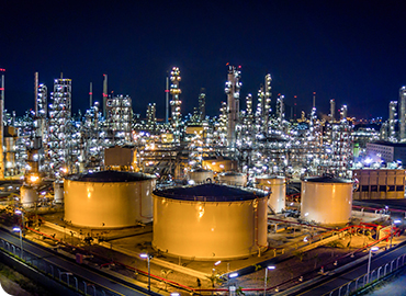 Gaseous Chlorine Elimination at Petroleum Refinery