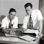 Al Samborn and Jack Steketee, SSOE Founders