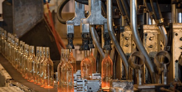 Glass-Bottle-Production
