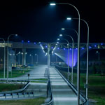 Volkswagen's LED Test track