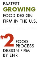 SSOE Ranked the #2 Food Process Design Firm by ENR