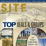 Site Selection Magazine May 2011 Issue Cover