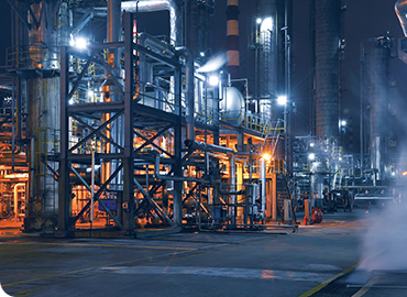 Catalyst Addition System at Petroleum Refinery