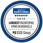 SSOE Group Named Top 10 Largest Engineering Firm in Birmingham and Nashville