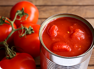 Tomato Product Can Conversion